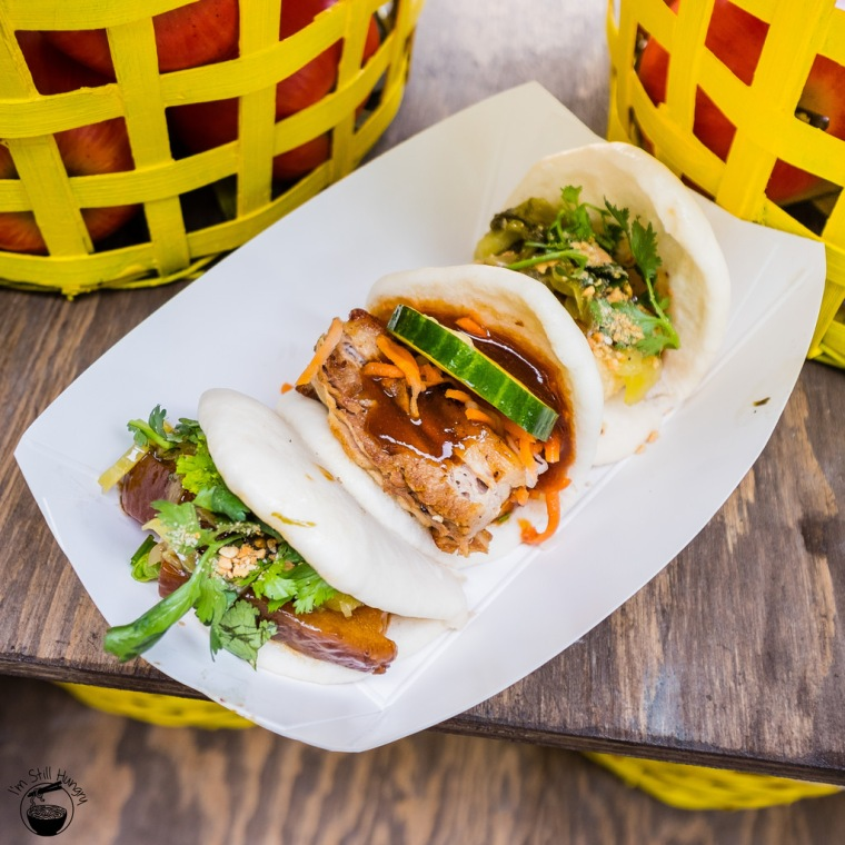 Mmm, braised pork belly bao. Joel told me they would be life changing, and they were. (source)