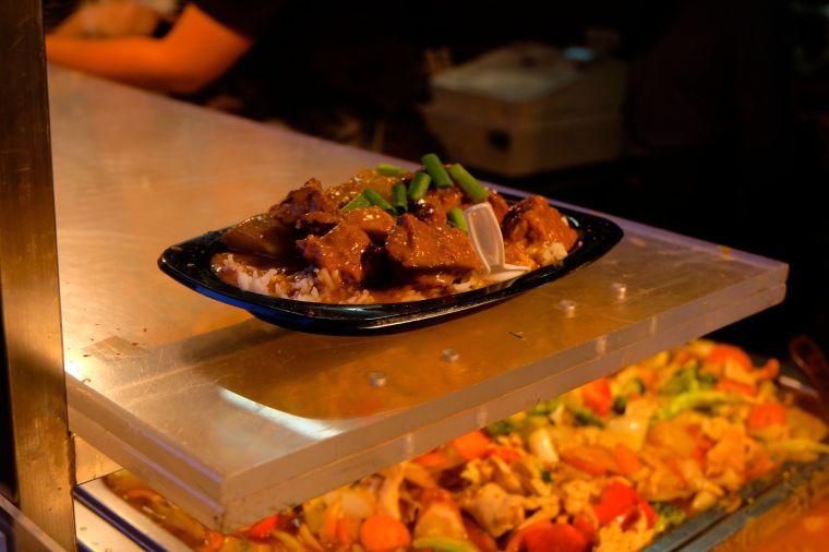 Yum! Joel's Massaman curry.