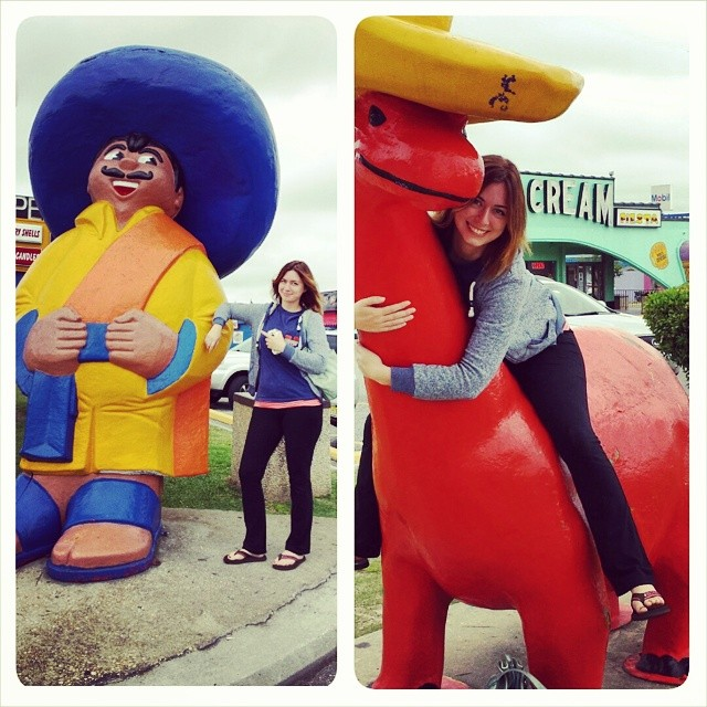 I took an awesome road trip to Savannah, GA with my mom and her girlfriends. We stopped at South of the Border because of course we did.
