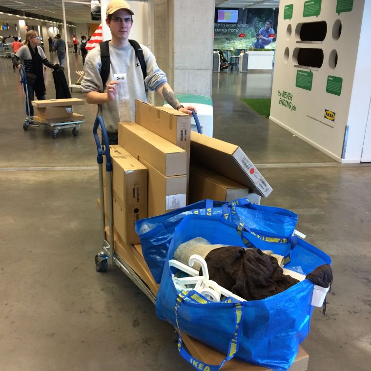 I got to live the dream with a near $900 trip to Ikea.