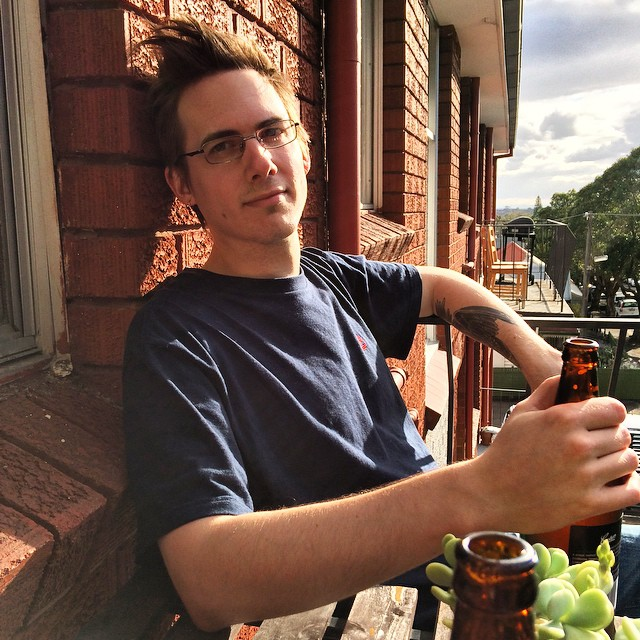 I got to spend so many balcony happy hours with this handsome man.