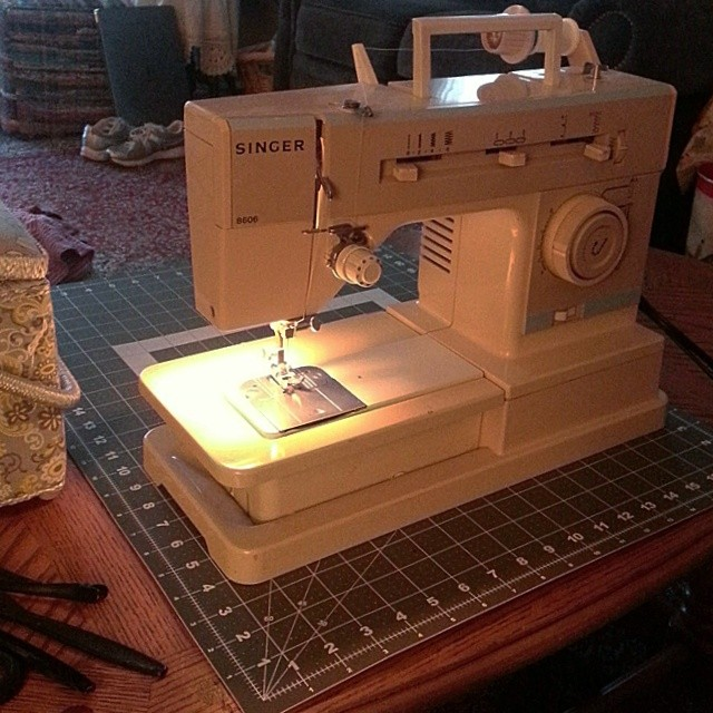 I spent my summer bonding with my mom's old sewing machine as I made baby quilts for my expecting sister and best friend.