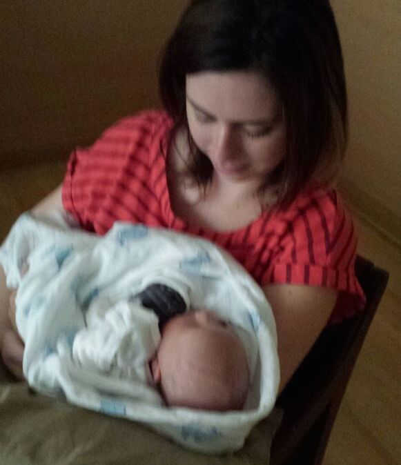 I cuddled with my brand new nephew, Henry, for about 800 hours.