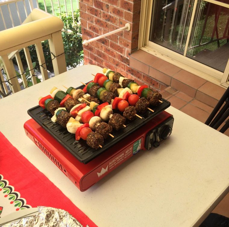 Christmas grill day*!