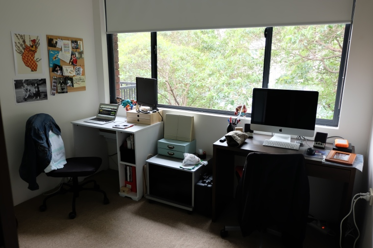 Decided to spruce up the study, since I'll be spending much more time in there in the next few weeks... /job hunt