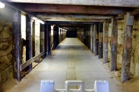 creepy old tunnel