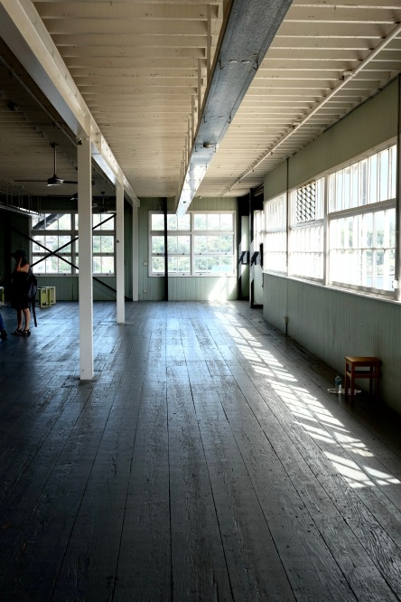 I want to live in an old warehouse. One with air conditioning, of course.