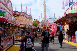 VA State Fair - sweltering and full of fried food