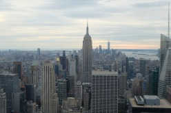 5:06PM, The Empire State Building, and down town