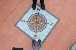 This would have been better if he was standing on the S and I was standing on the N. But eh, what can ya do.