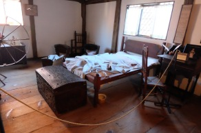 creeped out children's room - the reverend's wife had 6 children, and only 2 survived to adult hood.