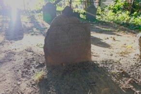 Typos on a headstone