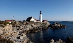 Portland Head Lighthouse. My grandpa loved light houses and took heaps of photos here.