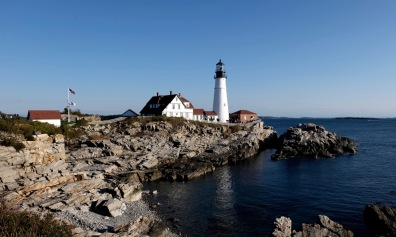 Portland Head Lighthouse. My grandpa loved light houses and took heaps of photos here.