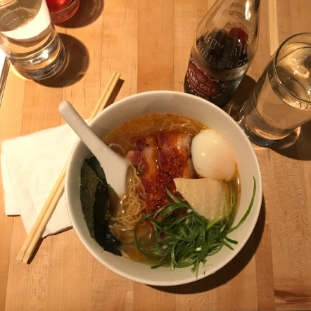 The most delicious ramen at Noodle Bar. We had to book it over 12 blocks and barely made it in time for lunch, but holy shit was it worth it. We have Big Feelings for David Chang around these parts.