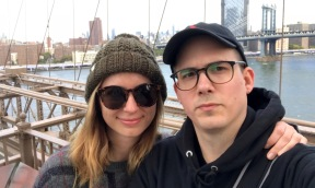 bridge tourists