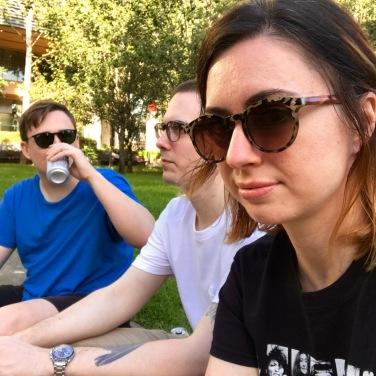 Sunday park beers