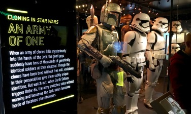 Step two had us choose our genes: Are we social and charming? A natural leader? An intellectual? Super strong? How in touch with the force are you? I chose a natural born leader with strong Force handling abilities. Why not? Also, Army Of One - made me chuckle. Also, also, BOBA FETT.