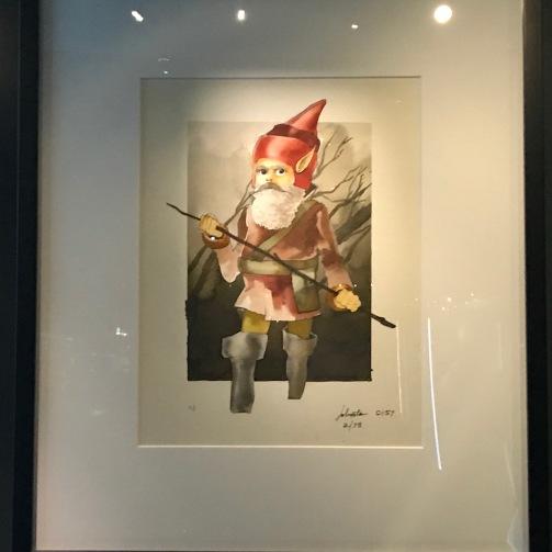 concept art for Yoda, aka David the Gnome